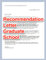 Recommendation letter editing service